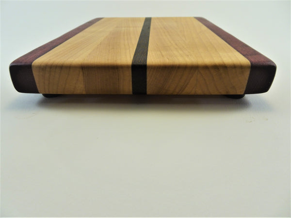 Small Purpleheart/Maple/Wenge Cutting Board