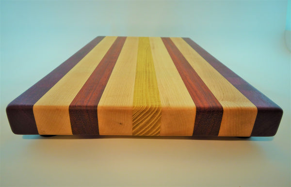 "Medium ""Rainbow"" Cutting Board/Serving Piece"