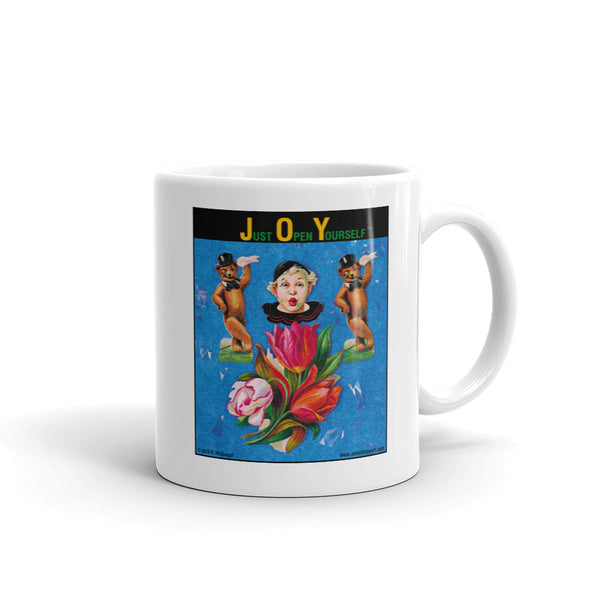 J.O.Y. - Just Open Yourself...... - clown - bears - flowers