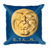 S.T.A.R. - Shine To Awaken Reality - Pillow