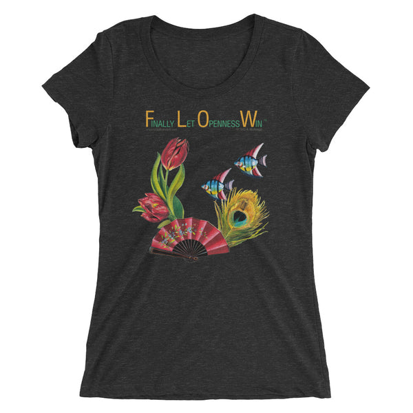 F.L.O.W. - Finally Let Openness Win...... - fish feather flower fan