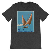 S.A.I.L. - Simply Awaken Into Life...... - sailboat - stamp