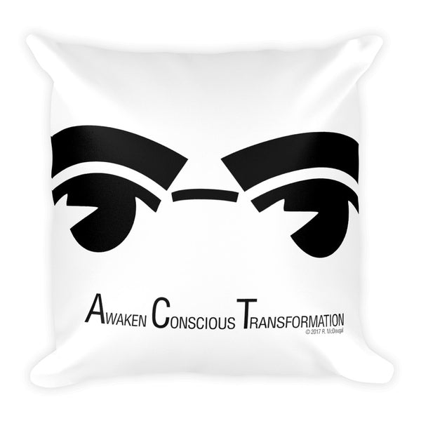 A.C.T. - Awaken Conscious Transformation Pillow