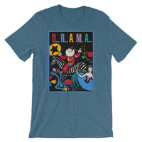 D.R.A.M.A. - Daylight Reveals All Men Acting......  - clown on zebra