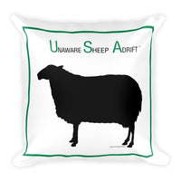 U.S.A. - Unaware Sheep Adrift Pillow