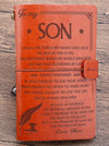 Son Mom - Believe In Yourself- Vintage Journal