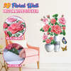 3D Floral Wall Decorative Sticker