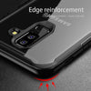 Shockproof Armor Case with Clear Acrylic Back For Samsung S10 S10+ S10 lite