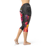 Guitar and Music Note Capri Leggings