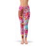 Womens Pink Candy Kawaii Legging