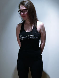 Women's Loyal Fitness tank - Black