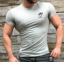 Grey performance t-shirt