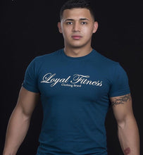 Blue performance t-shirt