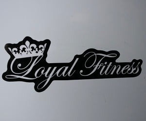 Loyal Fitness - Pack of 6 Stickers