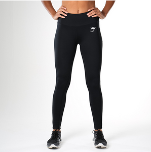 Black Loyal Fitness Legging with Hidden Pocket