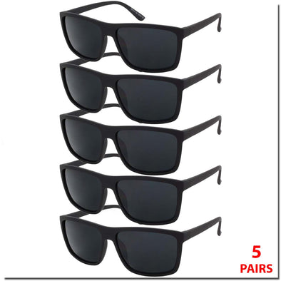 5 PACK BASIC SUNGLASSES