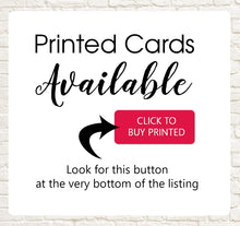 Load image into Gallery viewer, Printed Advice Cards Available