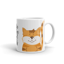 Load image into Gallery viewer, I Like Coffee and Cats Orange Tabby Cat Coffee Mug