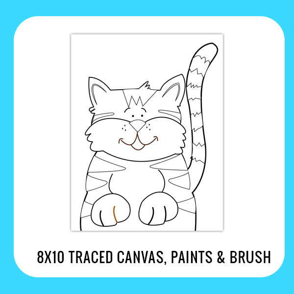 Kitty Cat Paint Kit for Kids