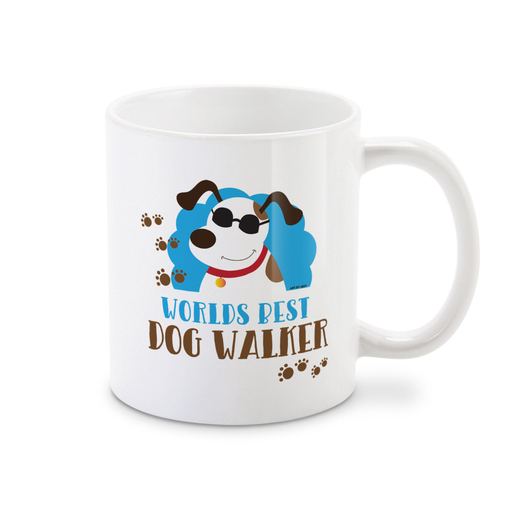 World's Best Dog Walker Pet Care Taker Coffee Mug