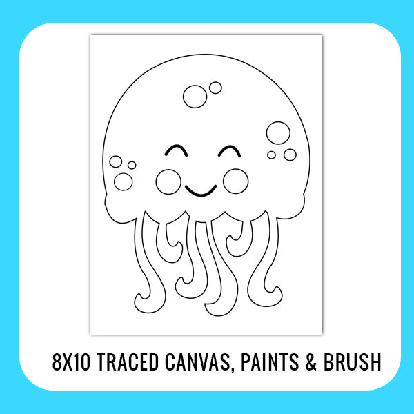 Jellyfish Sea Life Paint Kit for Kids
