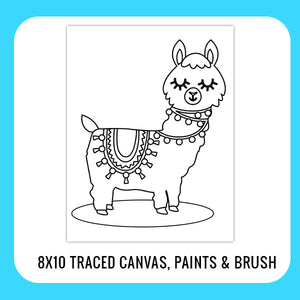 Llama Paint Kit for Kids