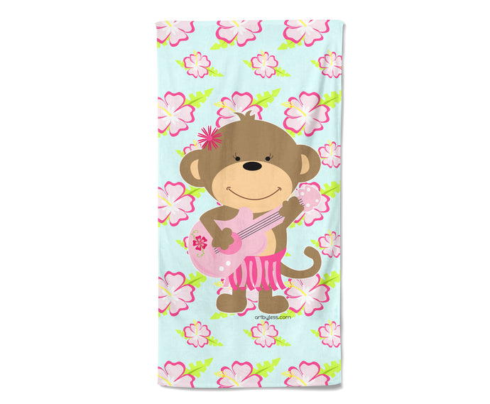 Cute Monkey Towel