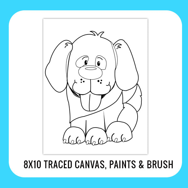 Puppy Dog Paint Kit for Kids