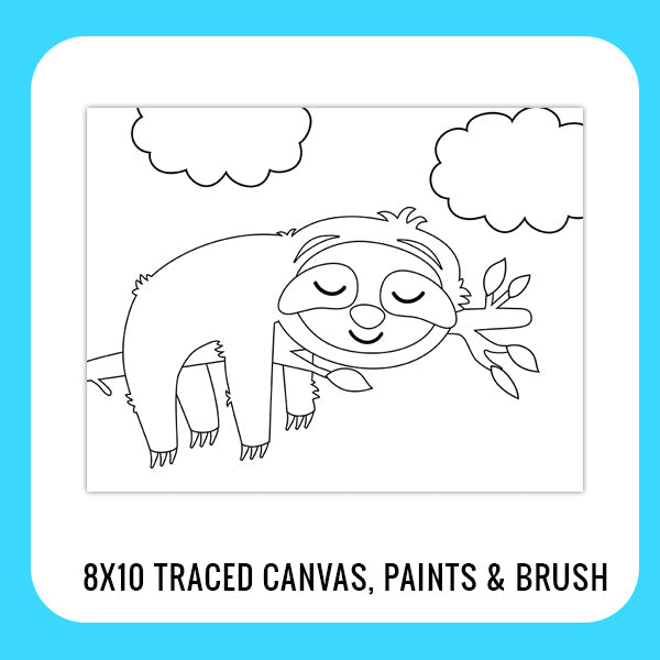 Sloth Paint Kit for Kids