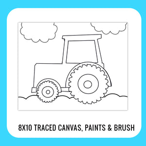 Tractor Paint Kit for Kids