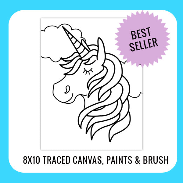 Unicorn Paint Kit for Kids