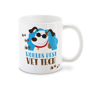 World's Best Vet Tech Veterinary Technician Coffee Mug