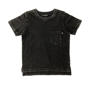 Pocket Tee Black Vintage