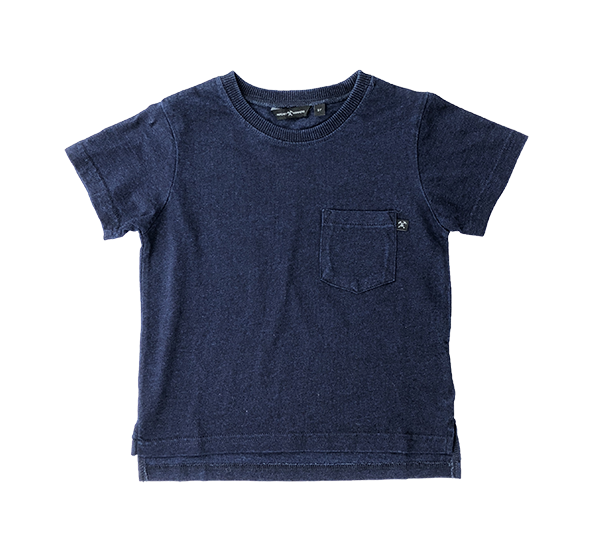 Pocket Tee Blue Vintage