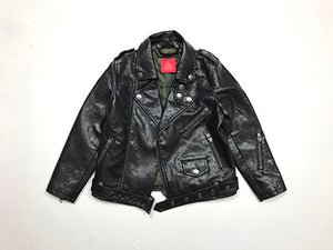 Rocker Jacket Black Vegan Lamb Skin