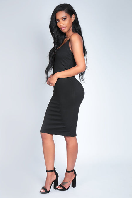 EVELYNN DRESS | BLACK