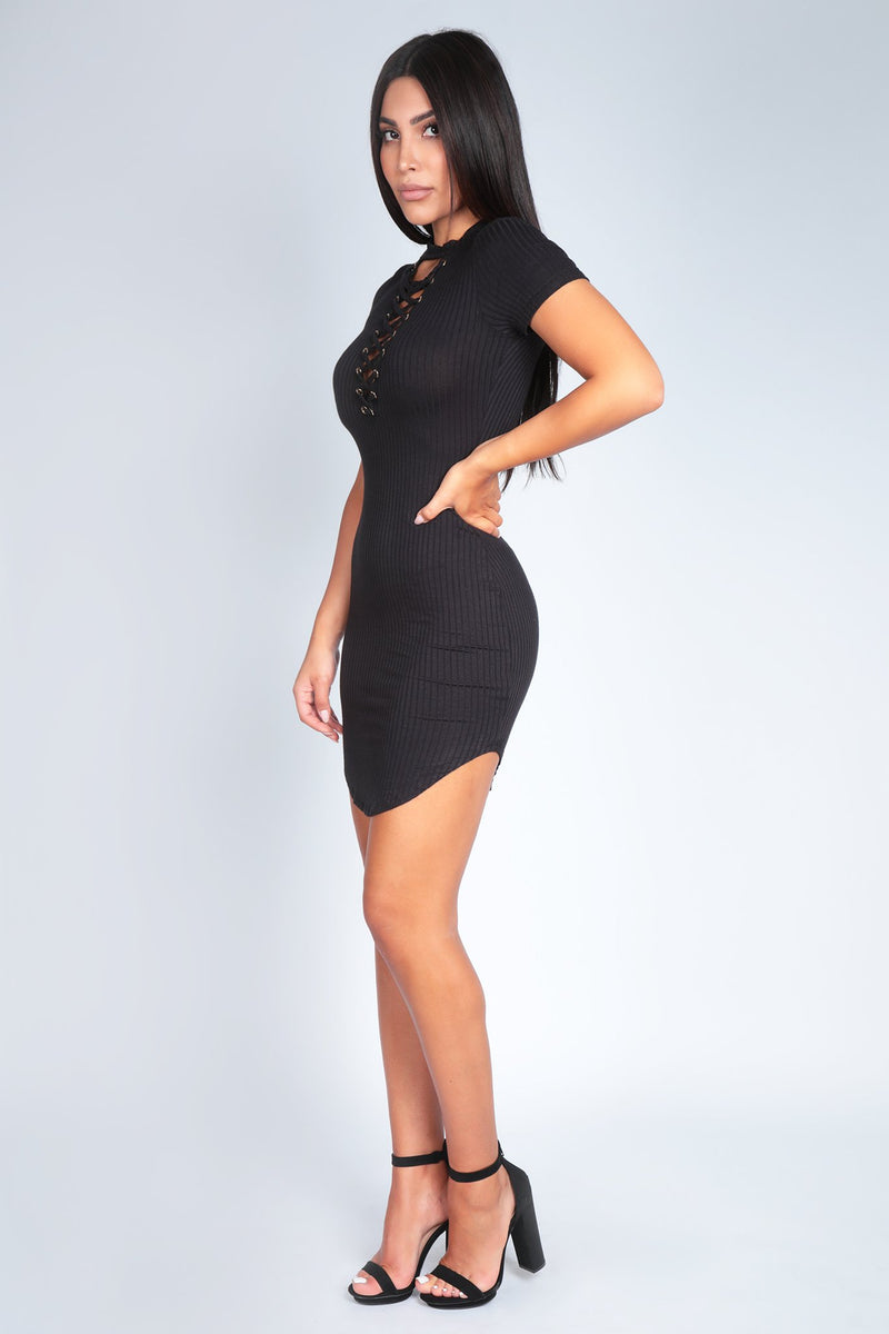 ANA DRESS | BLACK