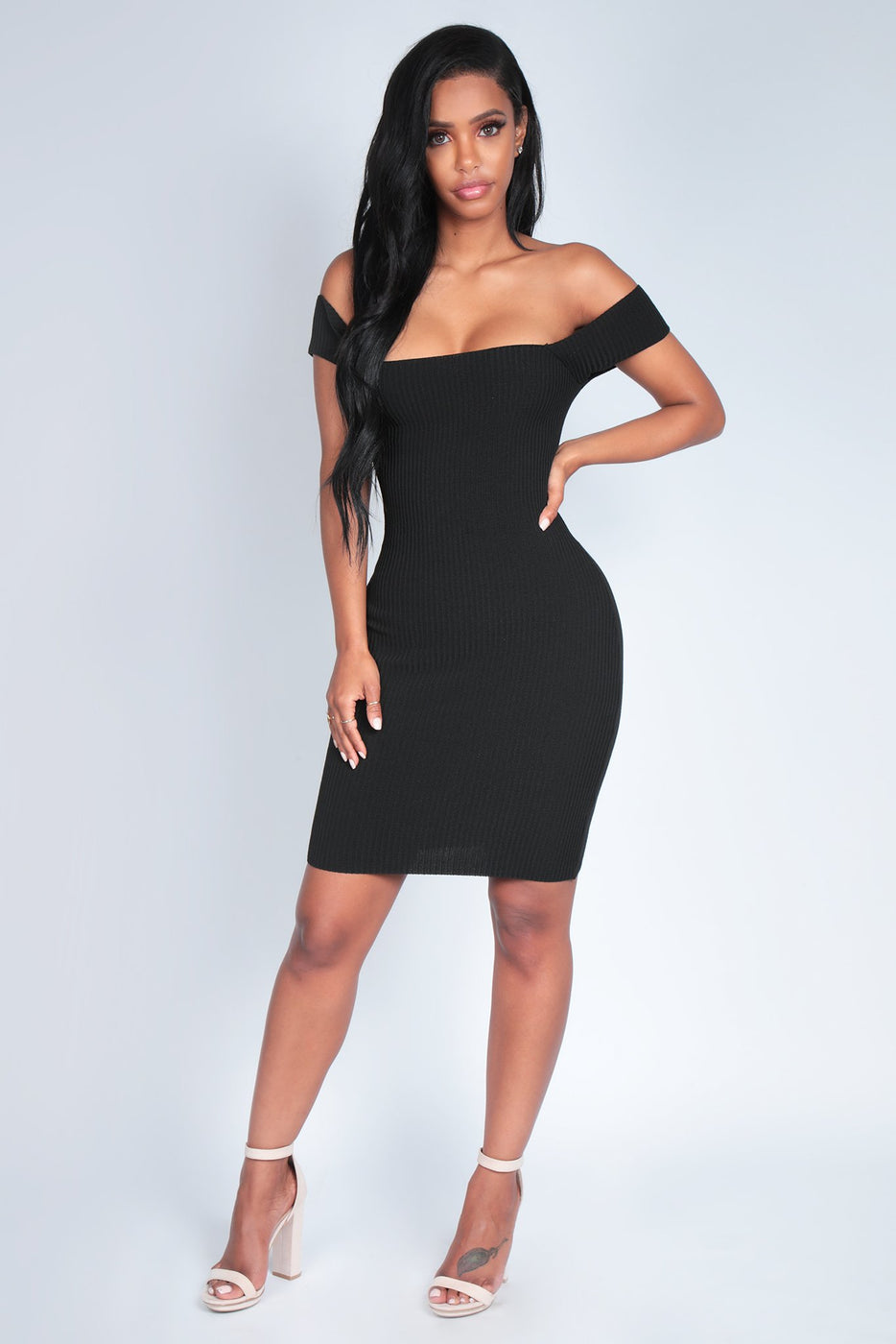 BELLA DRESS | BLACK
