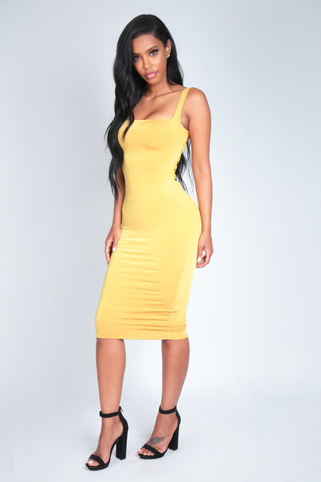 HELLA DRESS | YELLOW