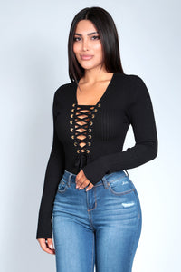 JAX BODYSUIT | BLACK