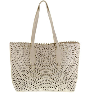 Laser Cut Carry-All Tote