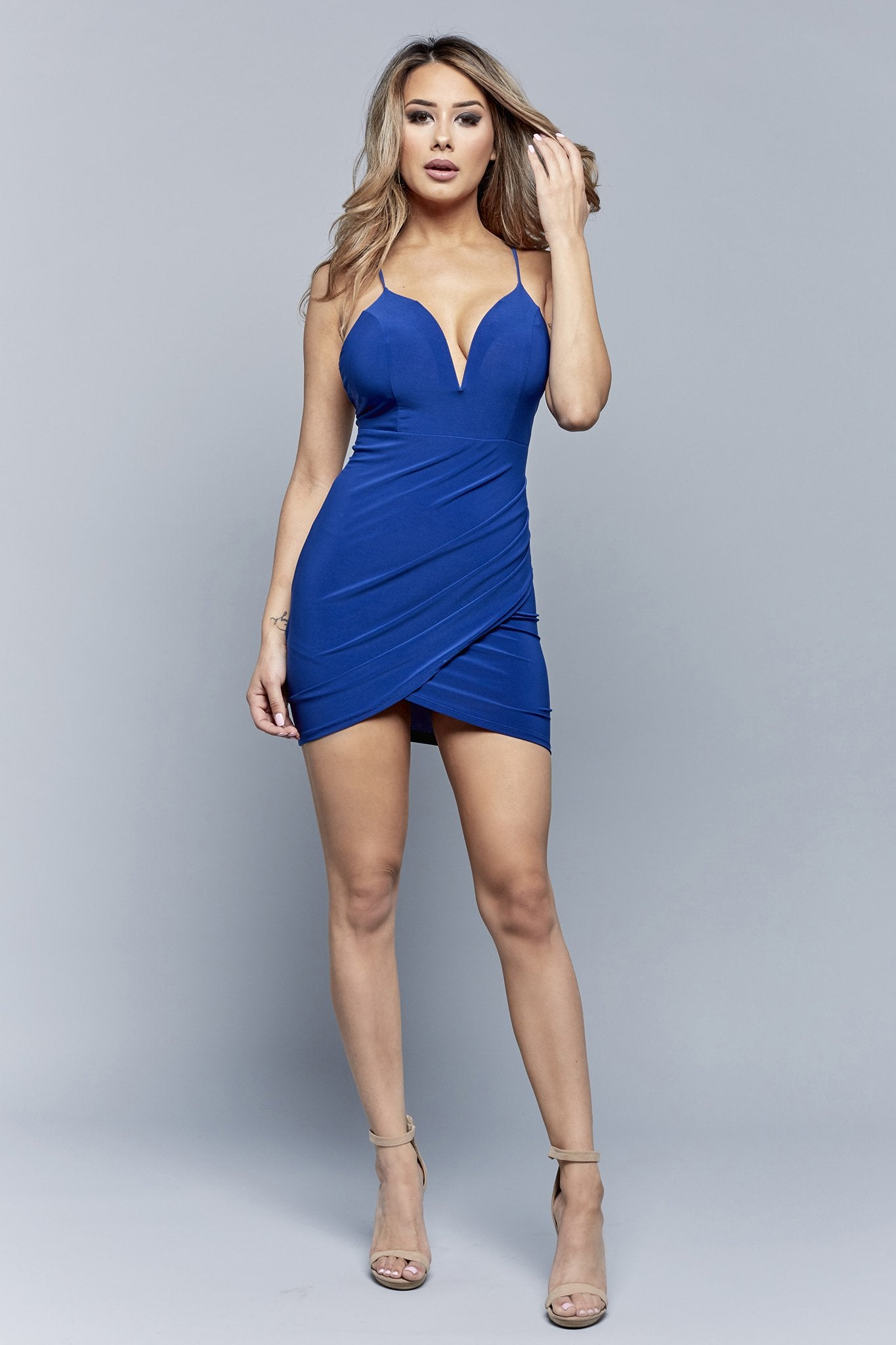 BABE IN BLUE DRESS | BLUE