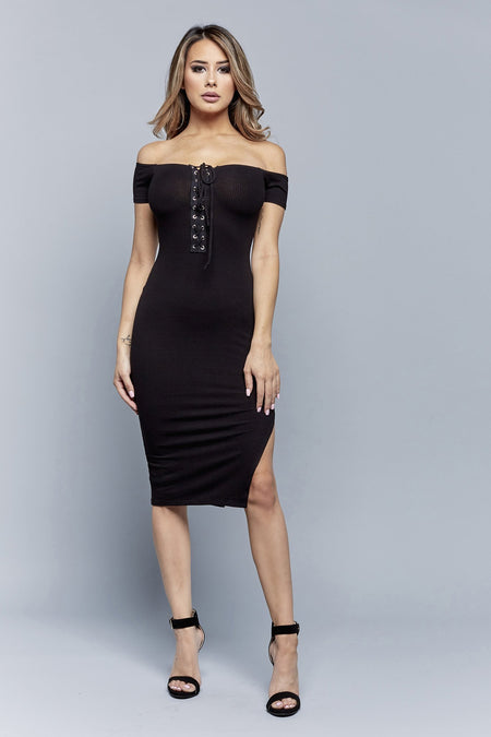 JENNY DRESS | BLACK
