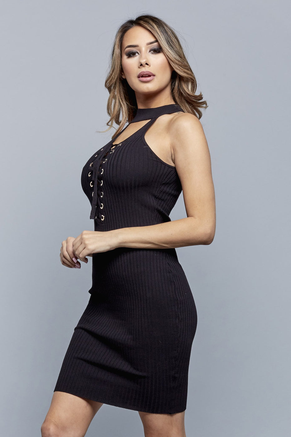 LACEY DRESS | BLACK