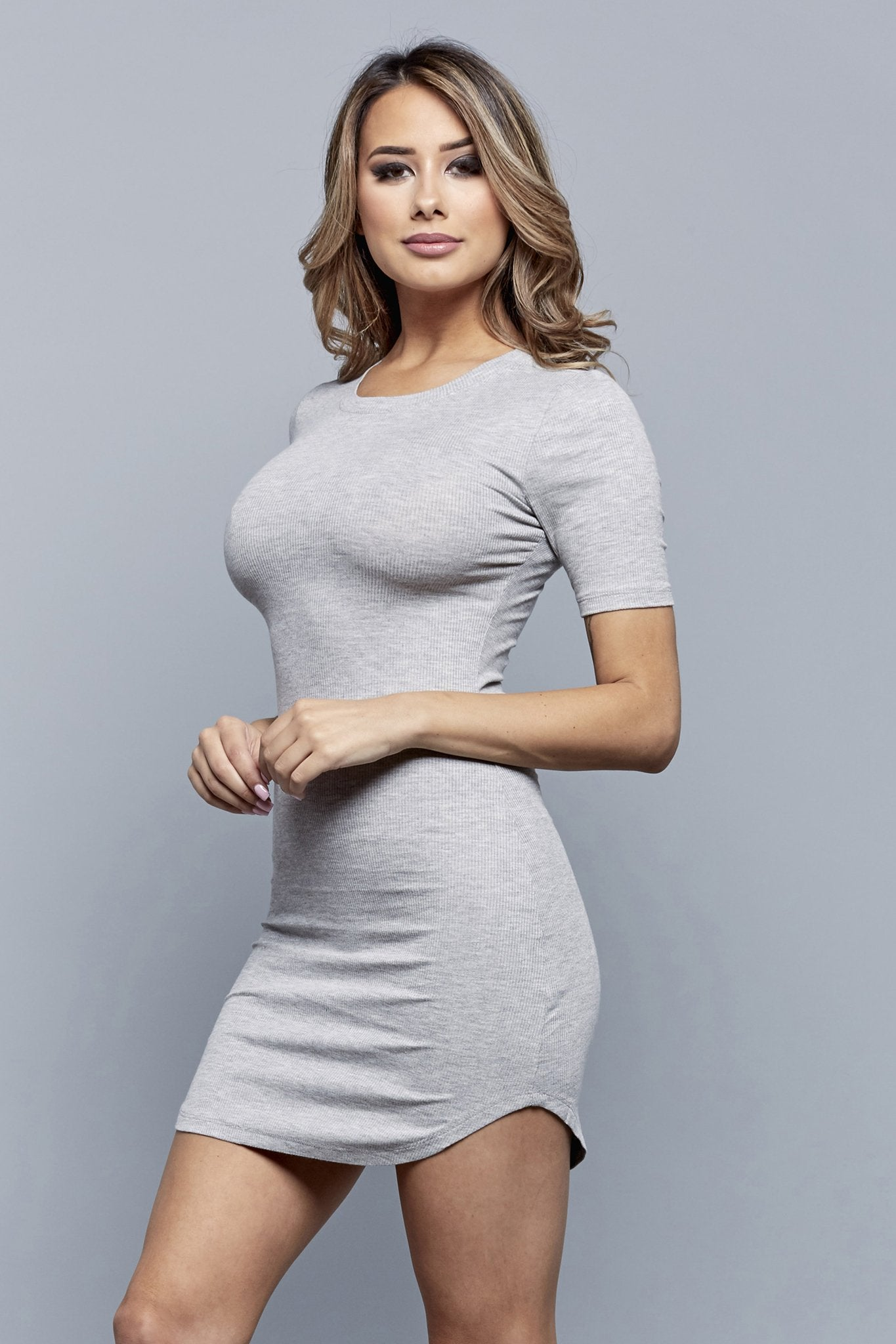 KYLEE DRESS | GREY