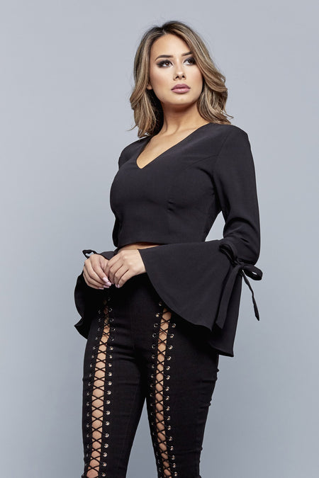 LISA TOP | BLACK