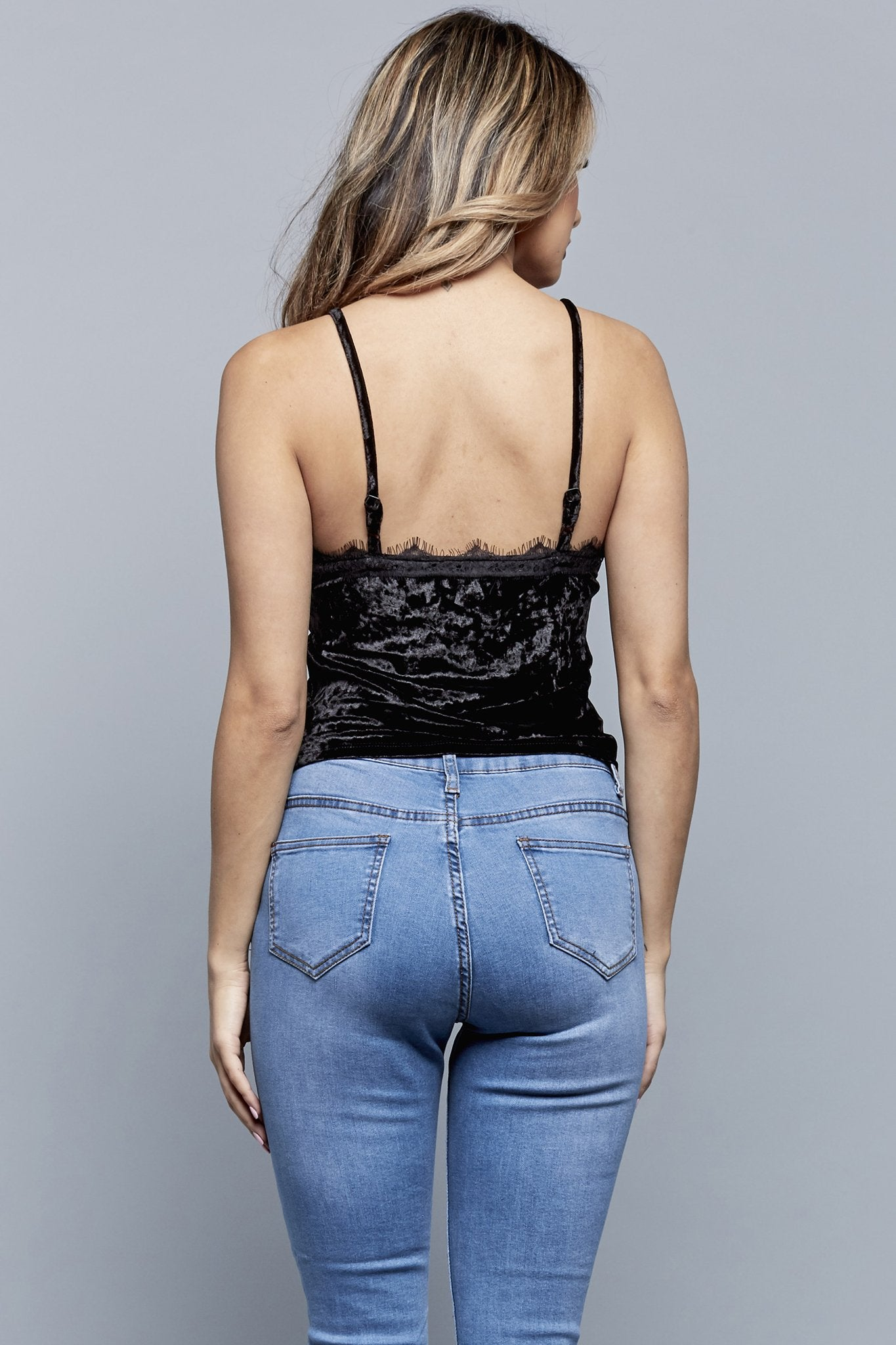 CRUSHIN' IT TOP | BLACK