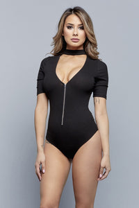 VI BODYSUIT | BLACK