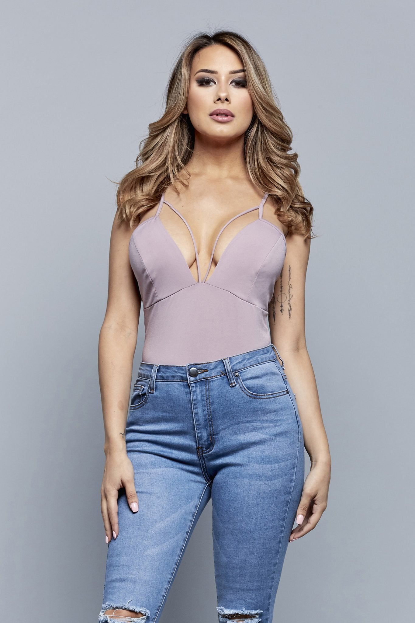 FOR PLAY BODYSUIT | MAUVE