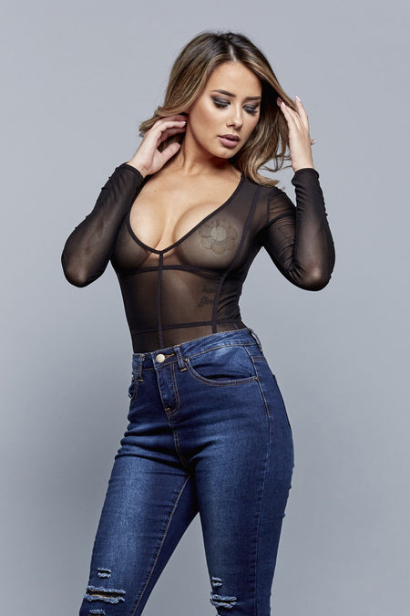 POWERHOUSE BODYSUIT | BLACK